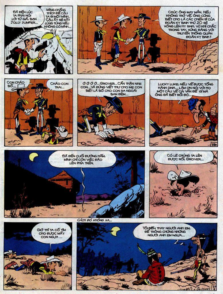 Lucky Luke tập 33 trang 37