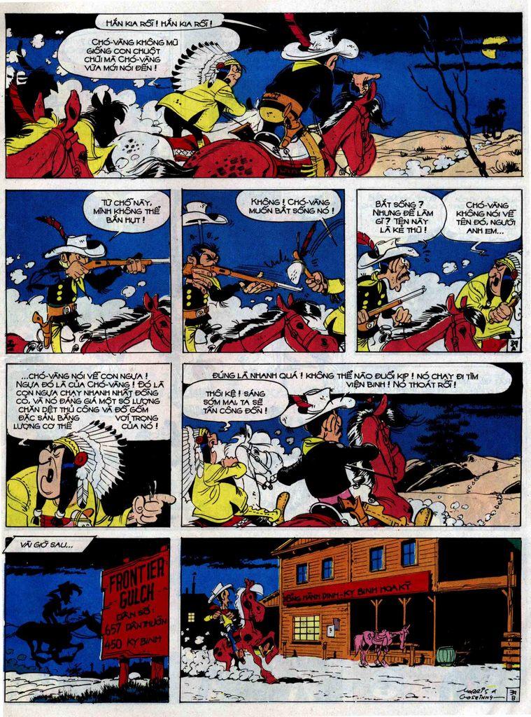 Lucky Luke tập 33 trang 39