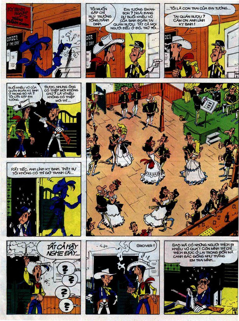 Lucky Luke tập 33 trang 40