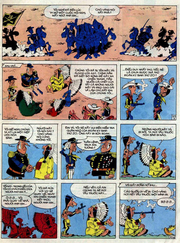 Lucky Luke tập 33 trang 43