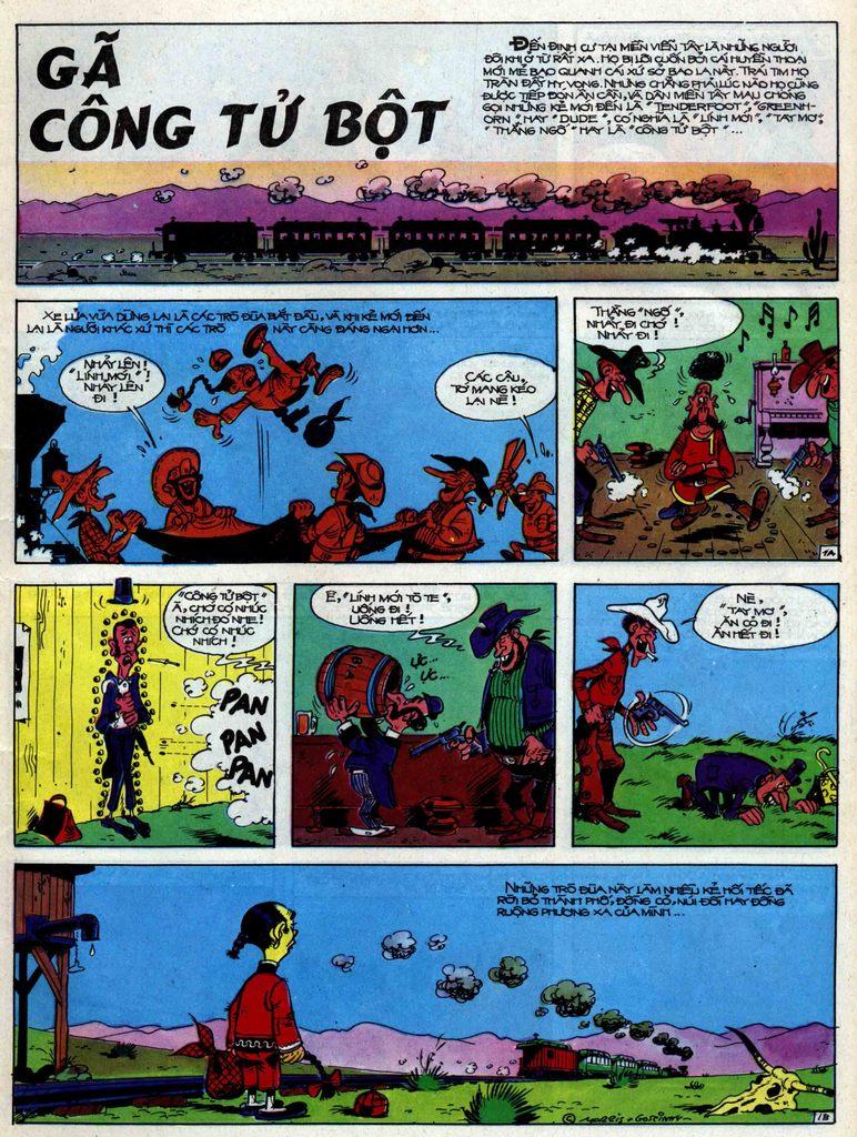 Lucky Luke tập 31 trang 1