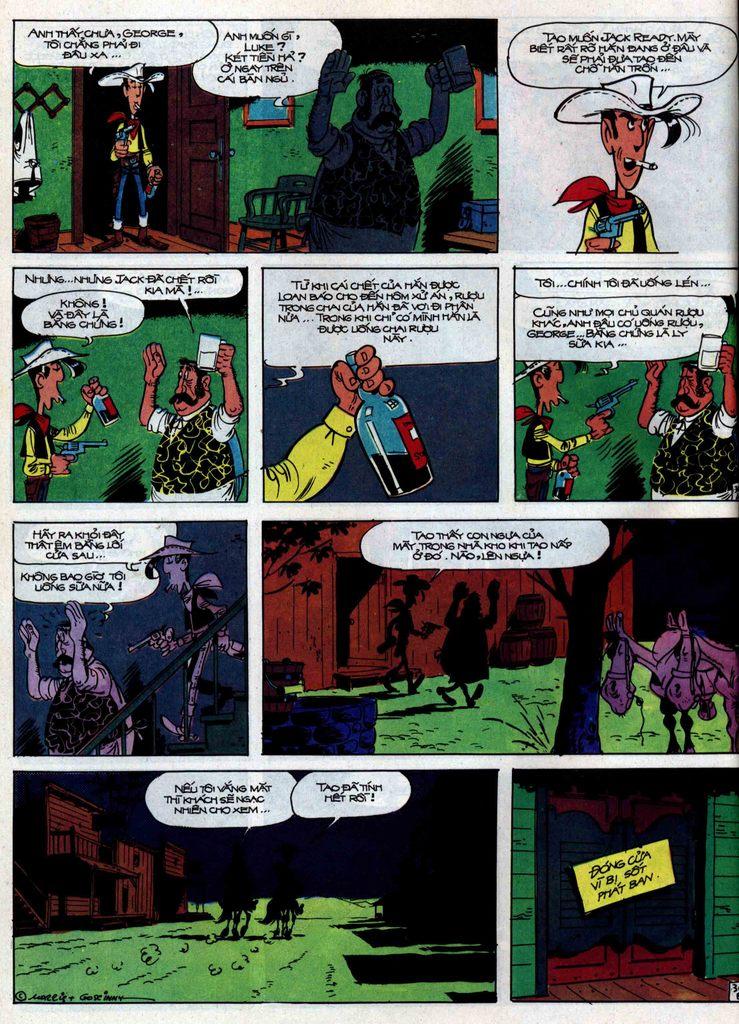 Lucky Luke tập 31 trang 36