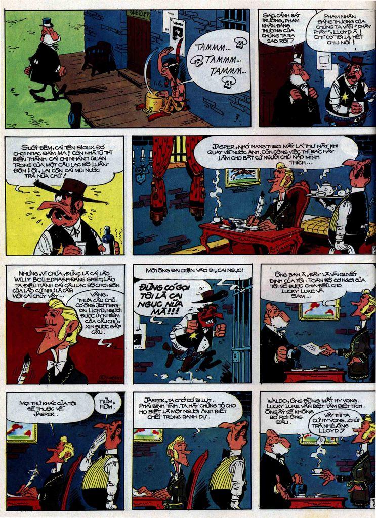 Lucky Luke tập 31 trang 38