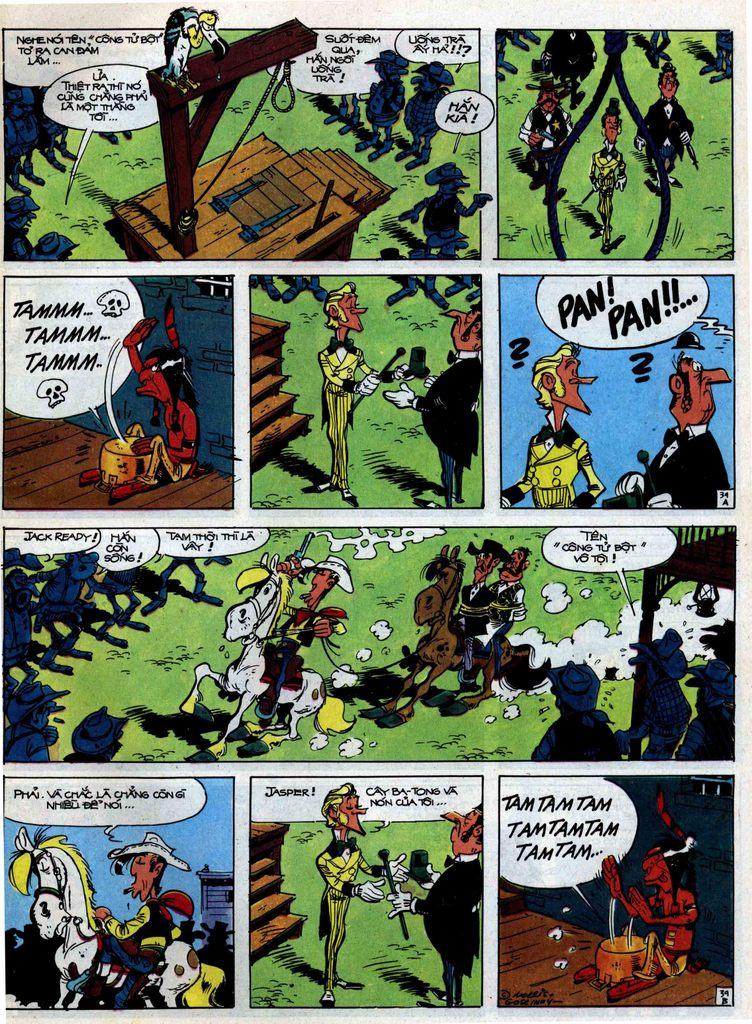 Lucky Luke tập 31 trang 39