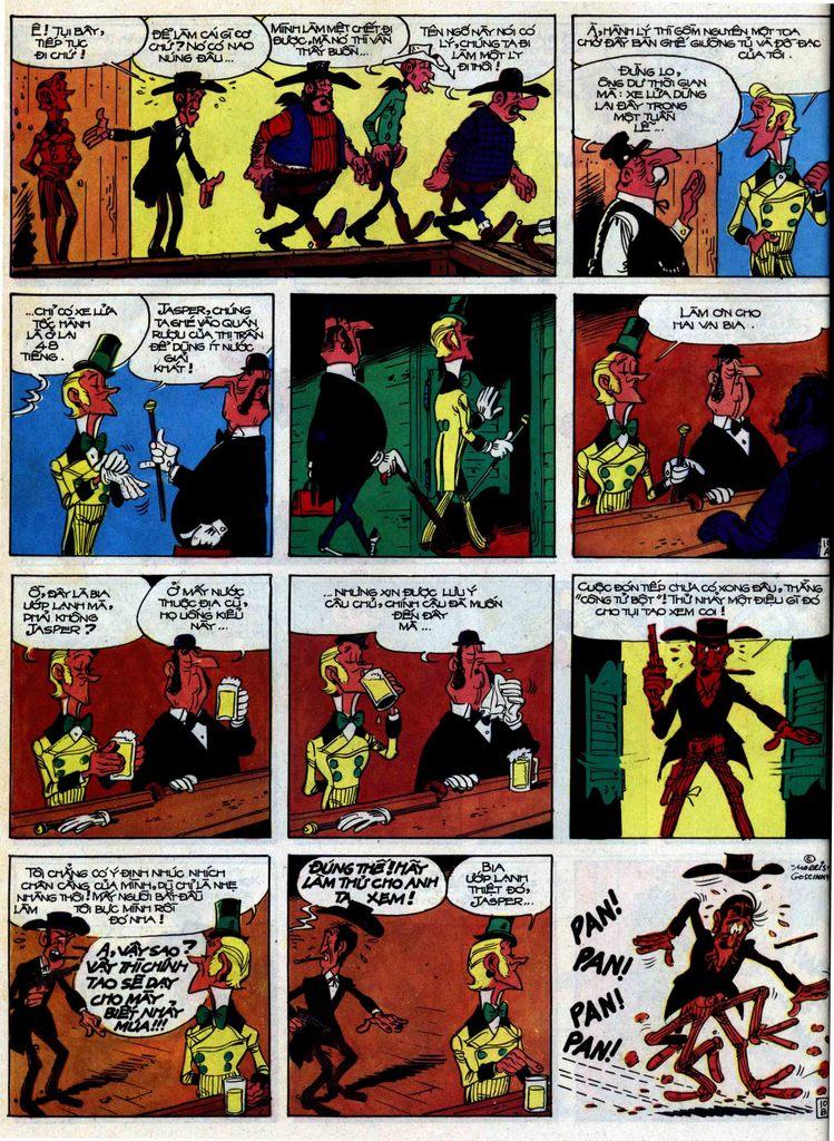 Lucky Luke tập 31 trang 10