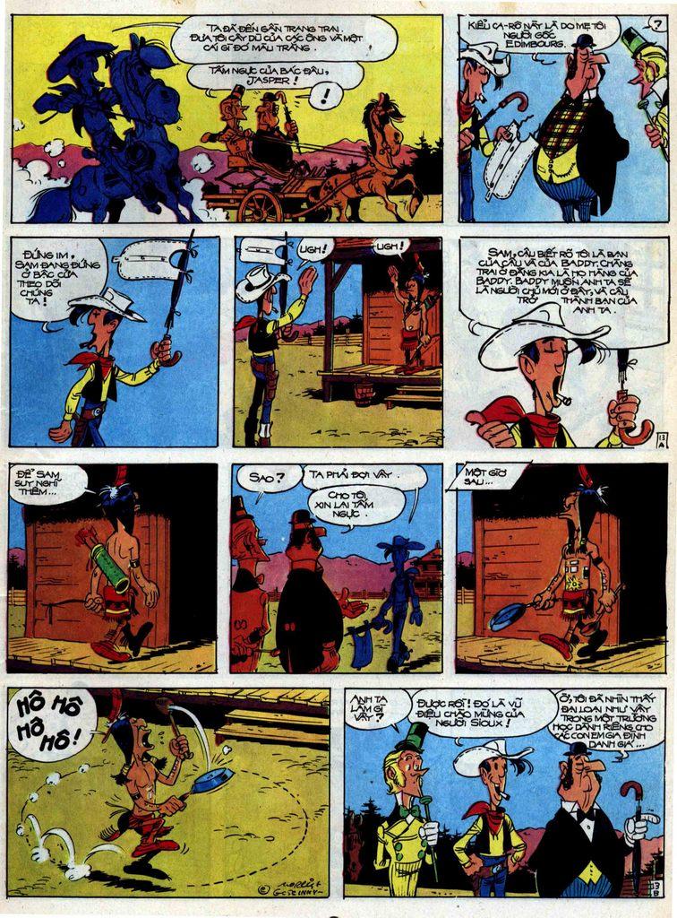 Lucky Luke tập 31 trang 13