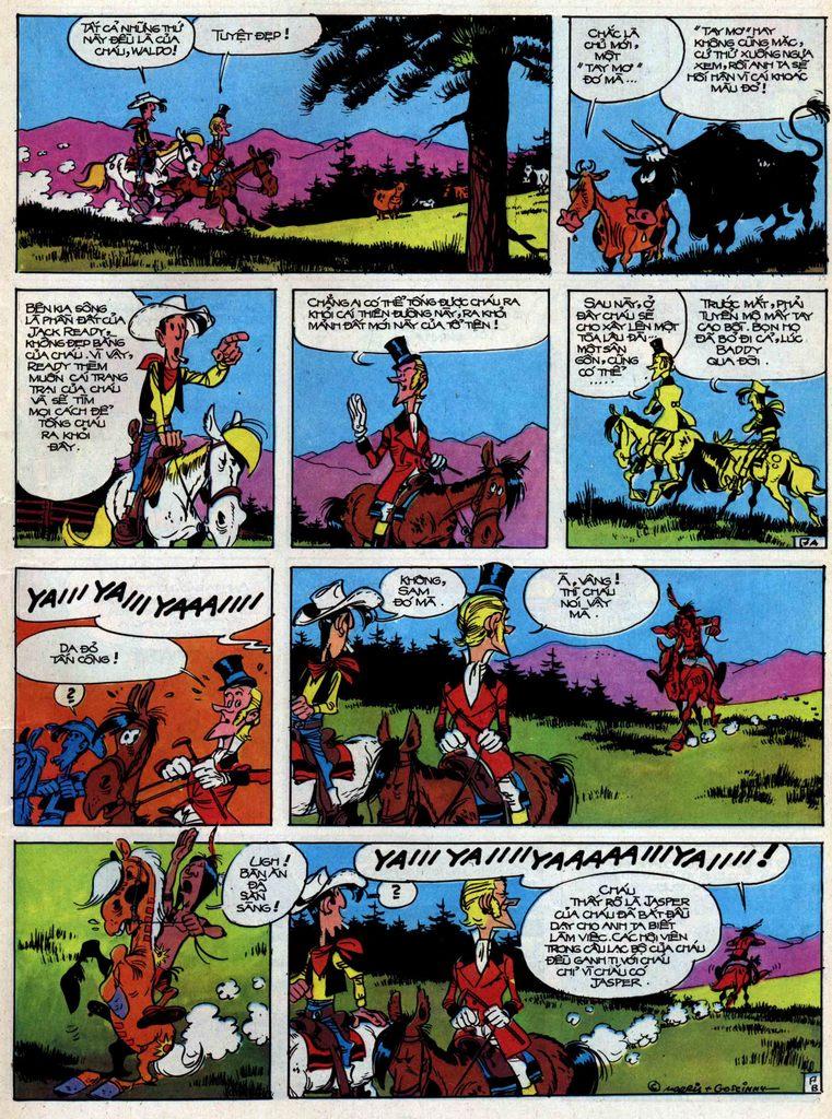 Lucky Luke tập 31 trang 17