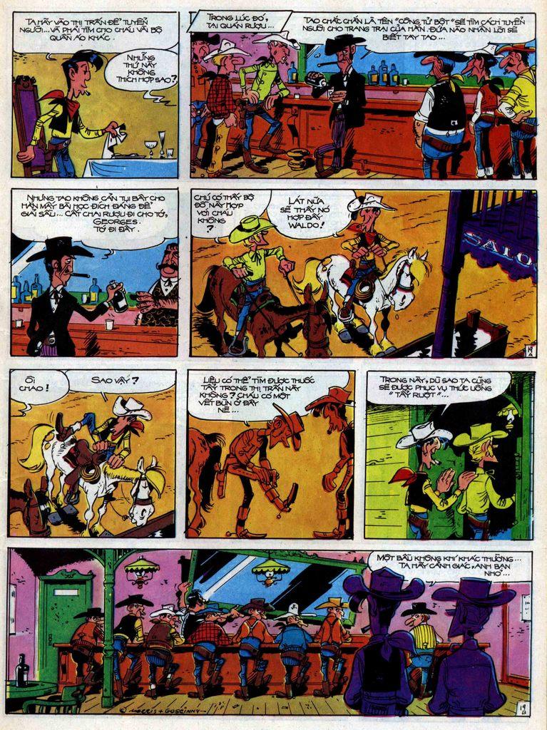 Lucky Luke tập 31 trang 19