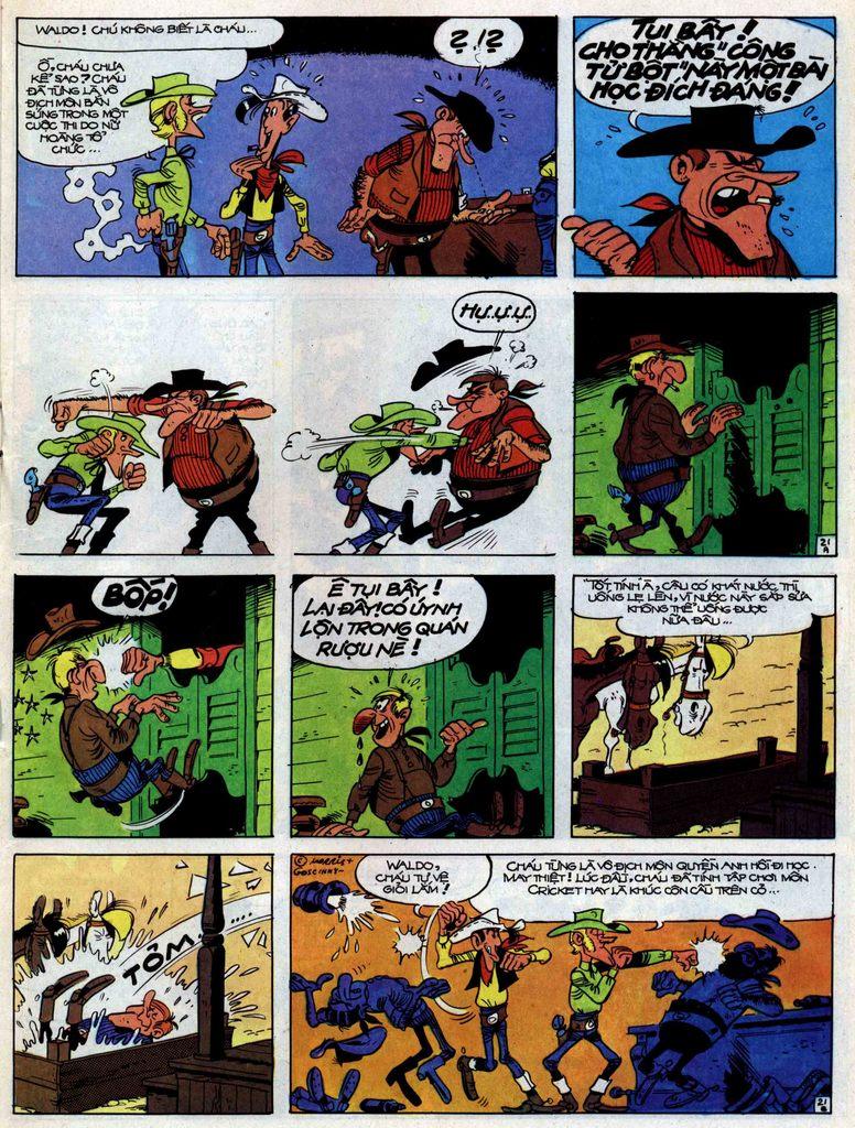 Lucky Luke tập 31 trang 21