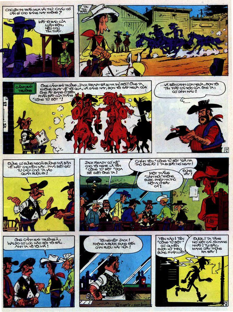 Lucky Luke tập 31 trang 25