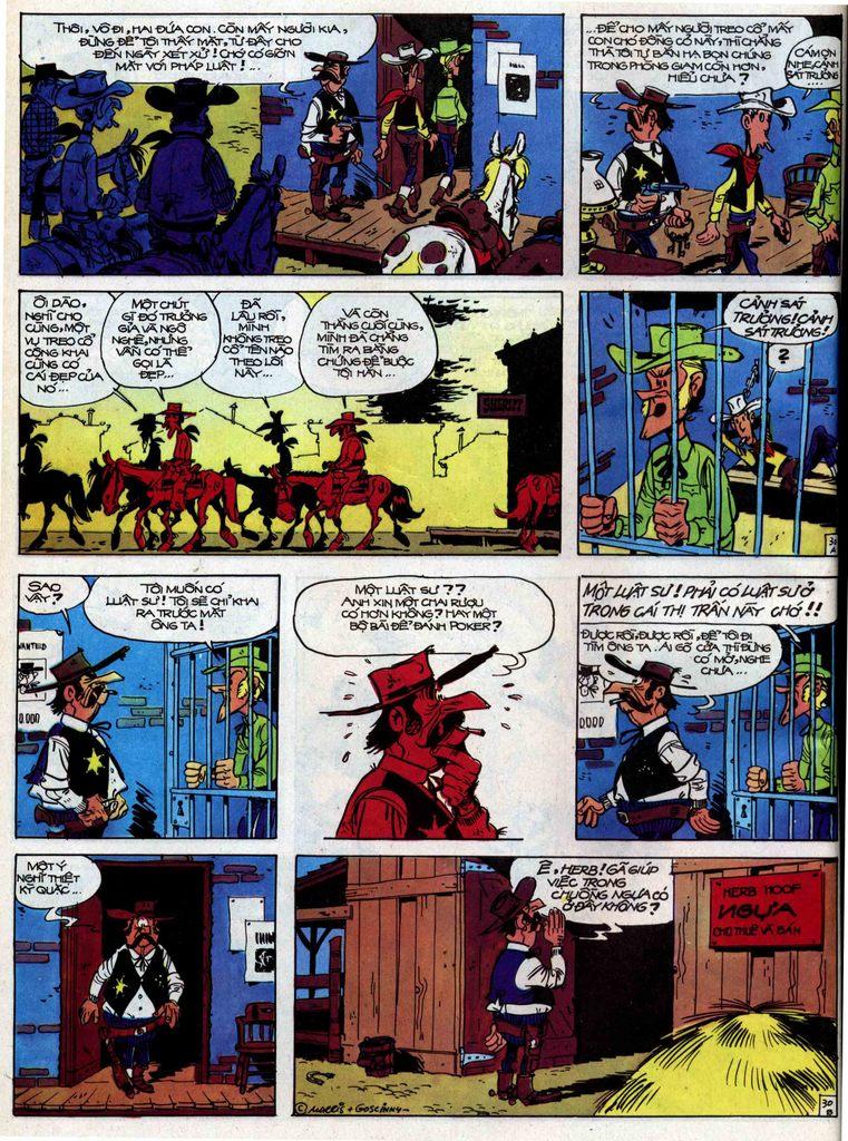 Lucky Luke tập 31 trang 30