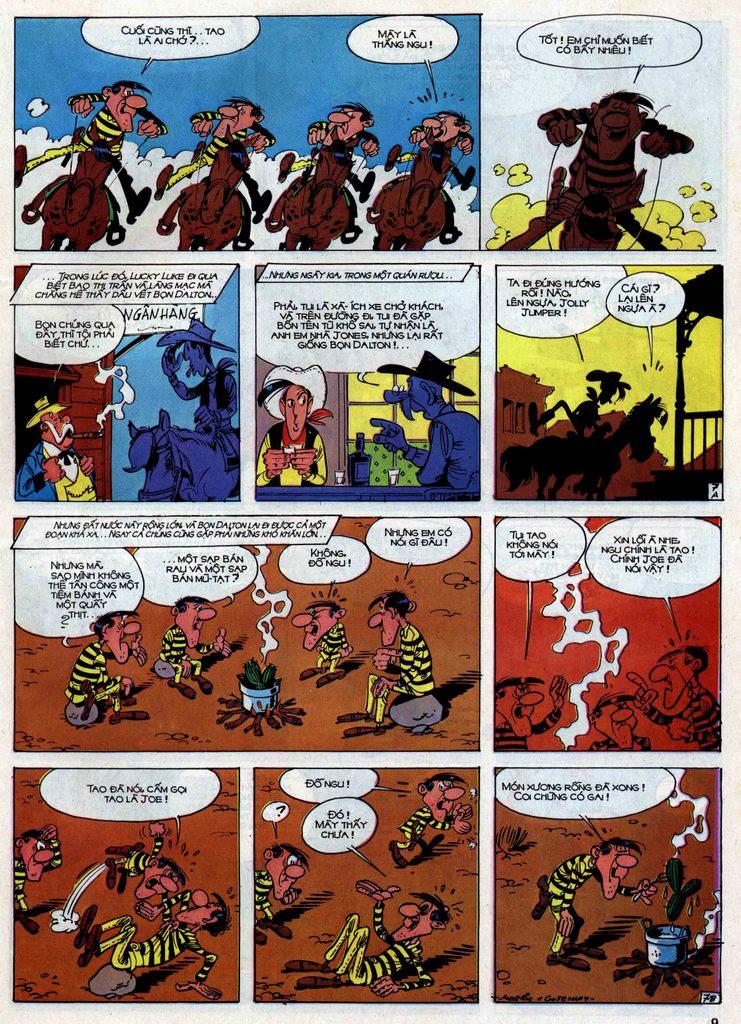 Lucky Luke tập 30 trang 6