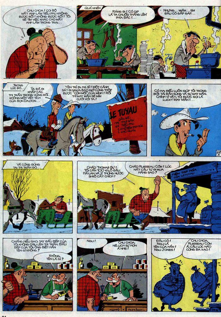 Lucky Luke tập 30 trang 20
