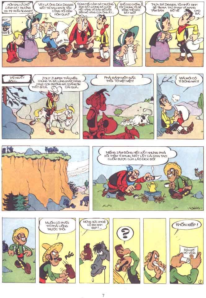 Lucky Luke tập 29 trang 8