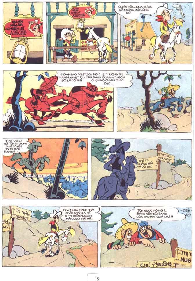 Lucky Luke tập 29 trang 16