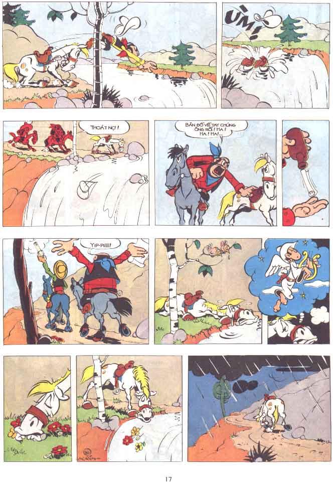 Lucky Luke tập 29 trang 18
