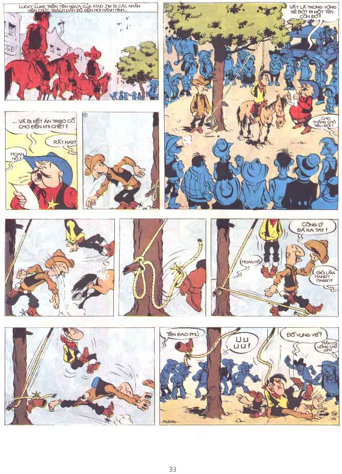 Lucky Luke tập 29 trang 34