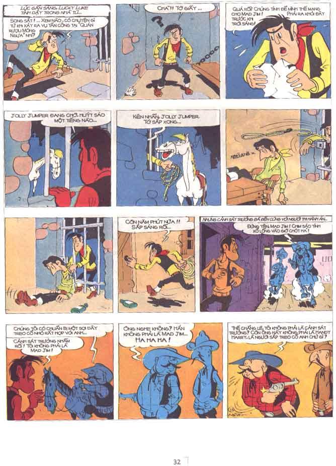 Lucky Luke tập 29 trang 33