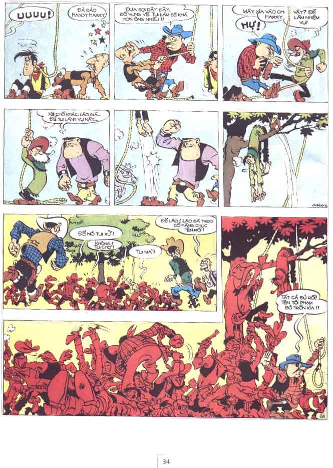 Lucky Luke tập 29 trang 35