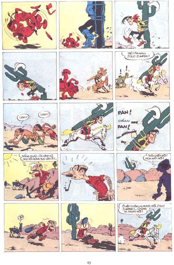 Lucky Luke tập 29 trang 44