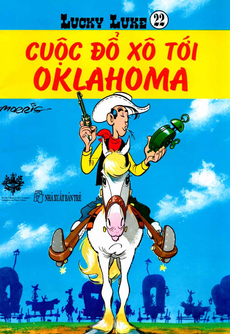 Lucky Luke tập 23 - cuộc đổ xô tới oklahoma trang 1