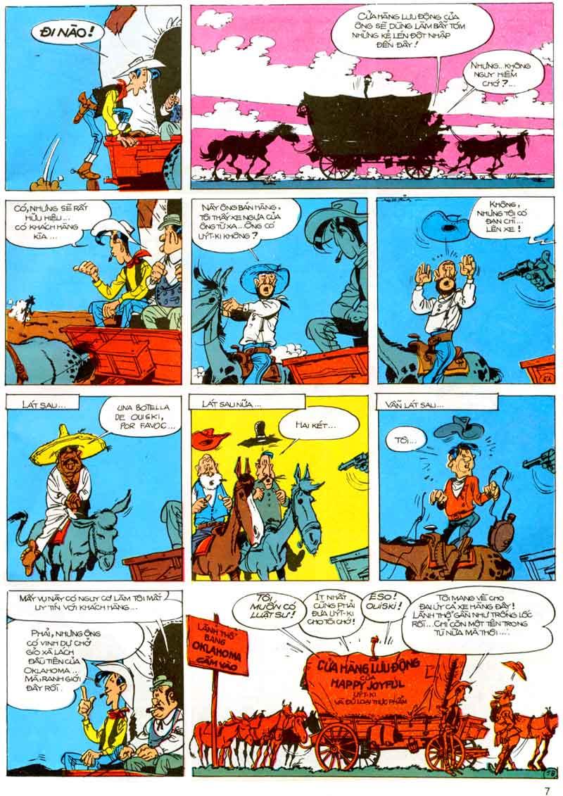 Lucky Luke tập 23 - cuộc đổ xô tới oklahoma trang 7