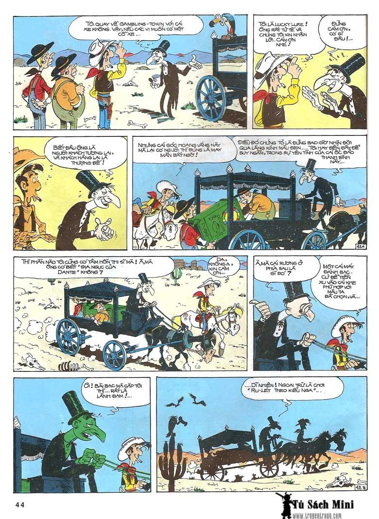 Lucky Luke tập 24 - tướng cướp một tay trang 46