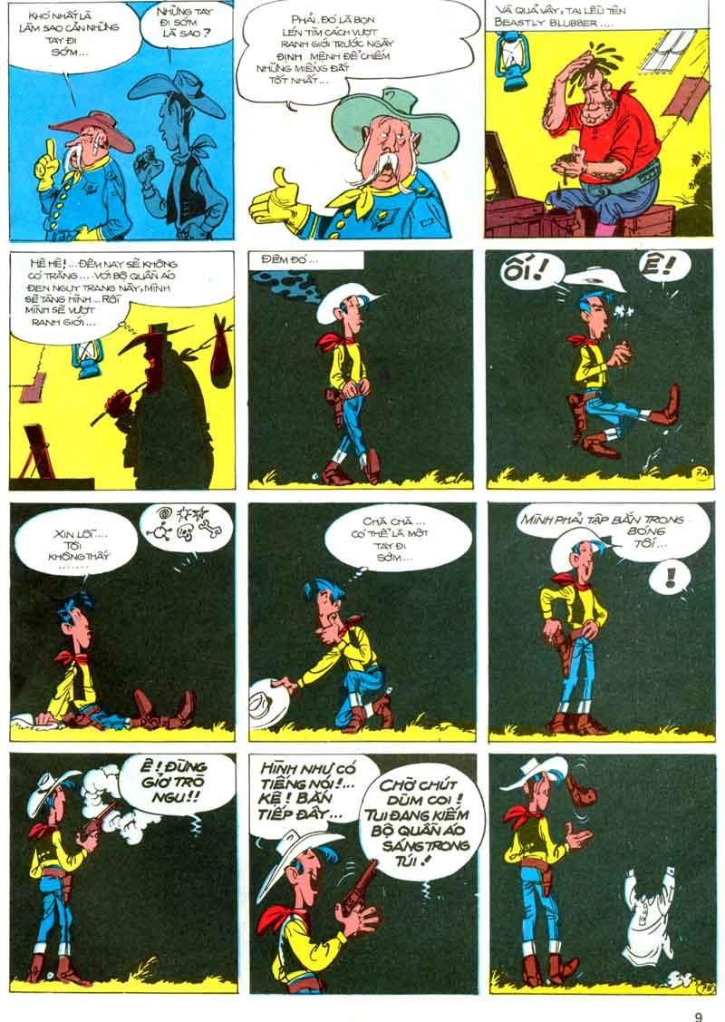 Lucky Luke tập 23 - cuộc đổ xô tới oklahoma trang 9