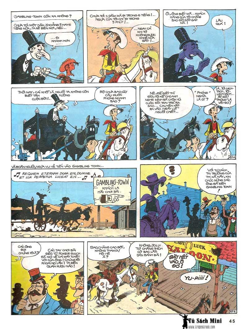 Lucky Luke tập 24 - tướng cướp một tay trang 47