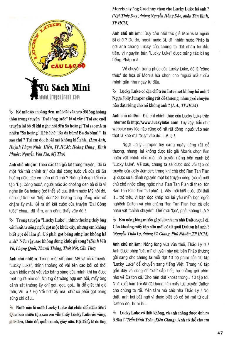 Lucky Luke tập 24 - tướng cướp một tay trang 49