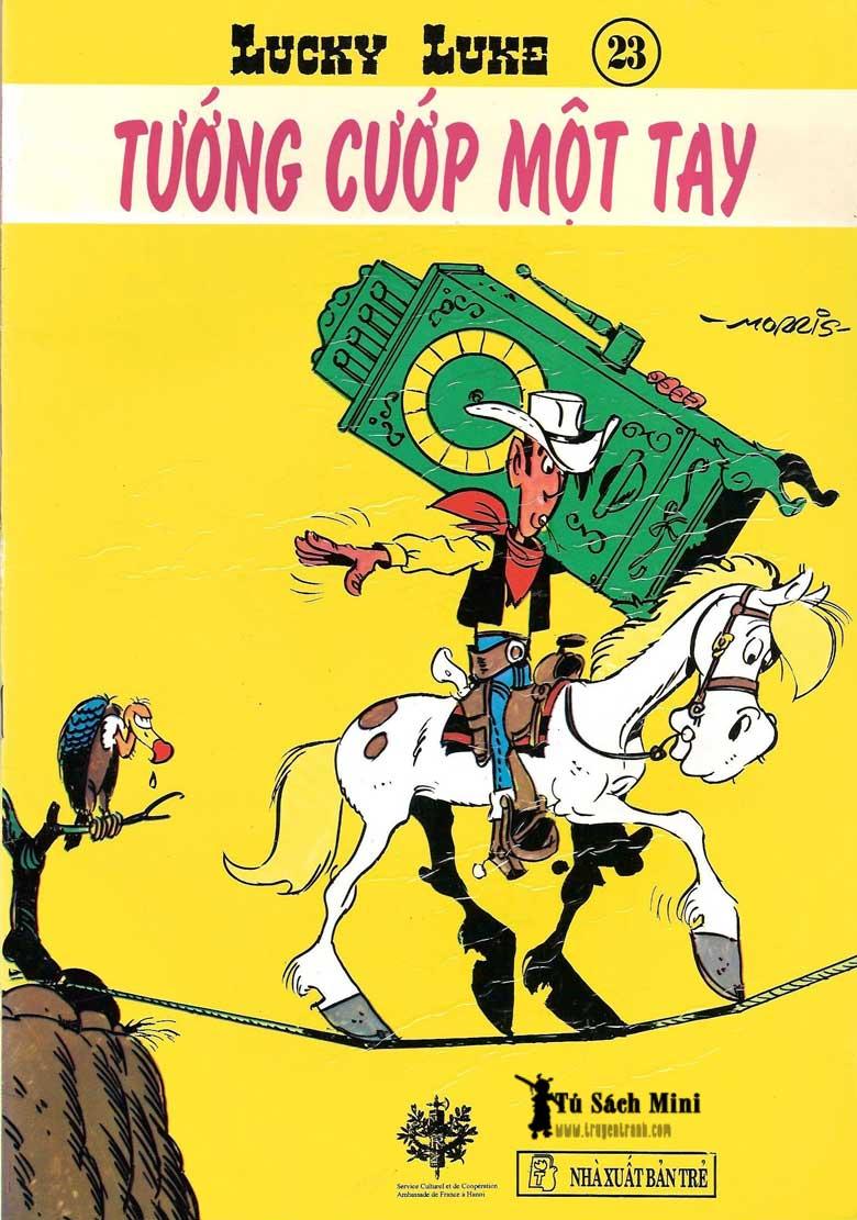 Lucky Luke tập 24 - tướng cướp một tay trang 1