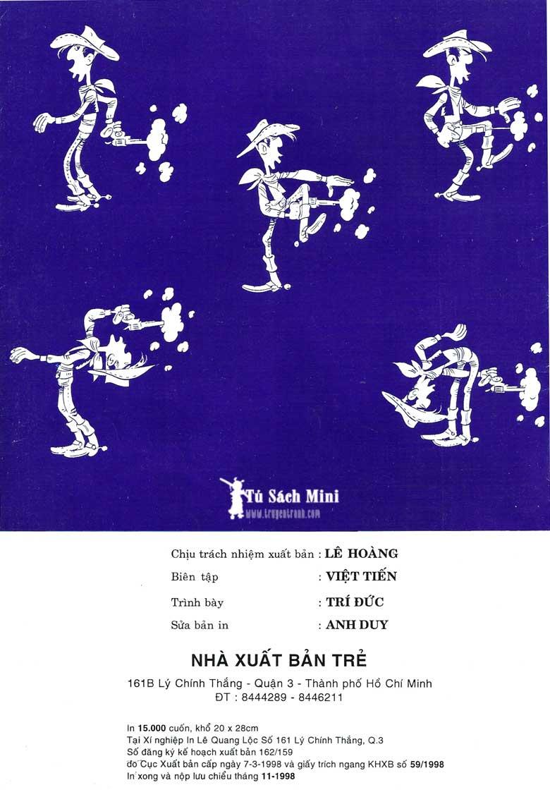 Lucky Luke tập 24 - tướng cướp một tay trang 2