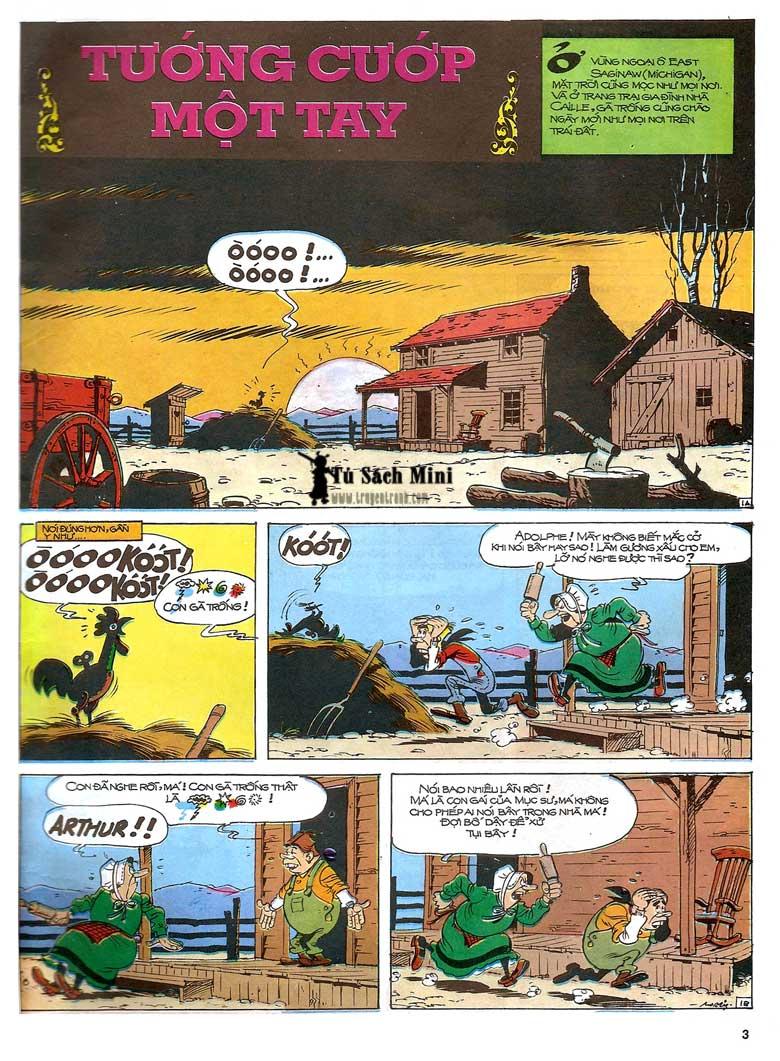Lucky Luke tập 24 - tướng cướp một tay trang 5