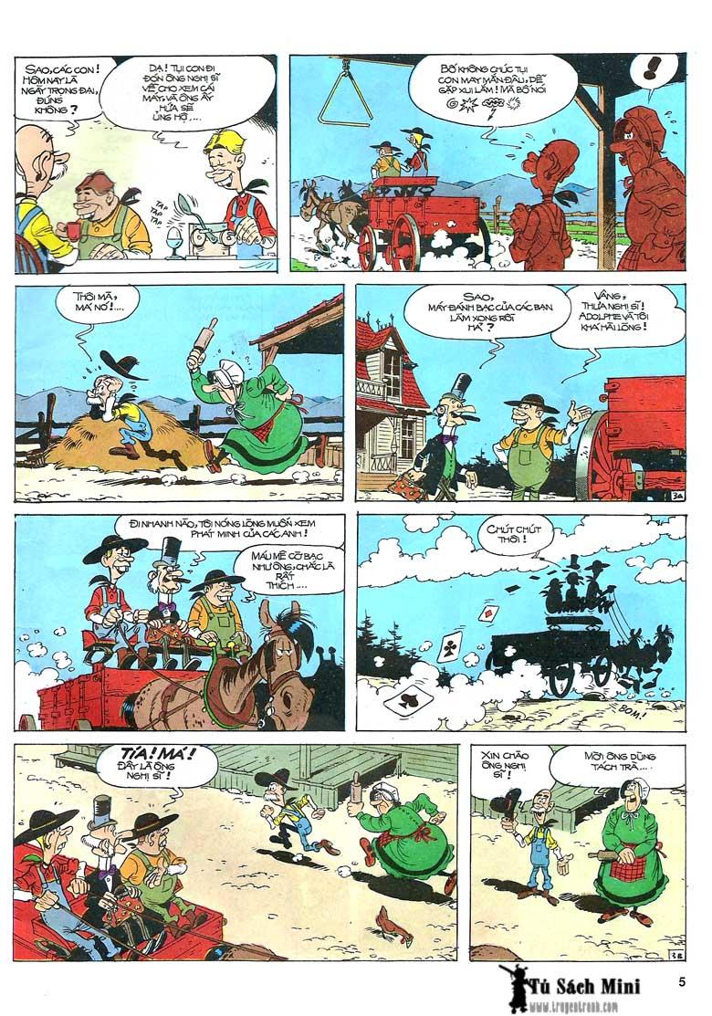 Lucky Luke tập 24 - tướng cướp một tay trang 7