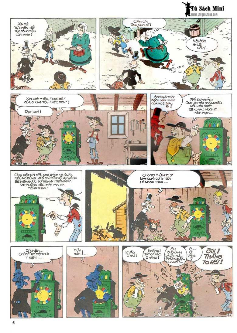 Lucky Luke tập 24 - tướng cướp một tay trang 8
