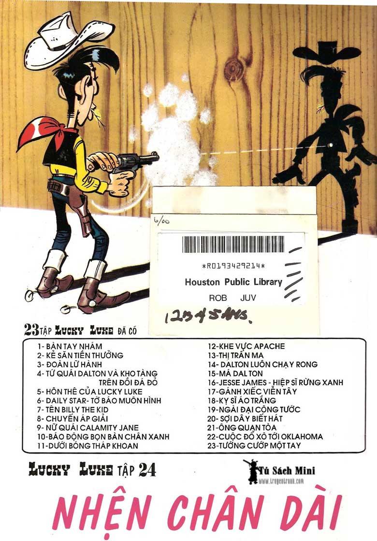 Lucky Luke tập 24 - tướng cướp một tay trang 52