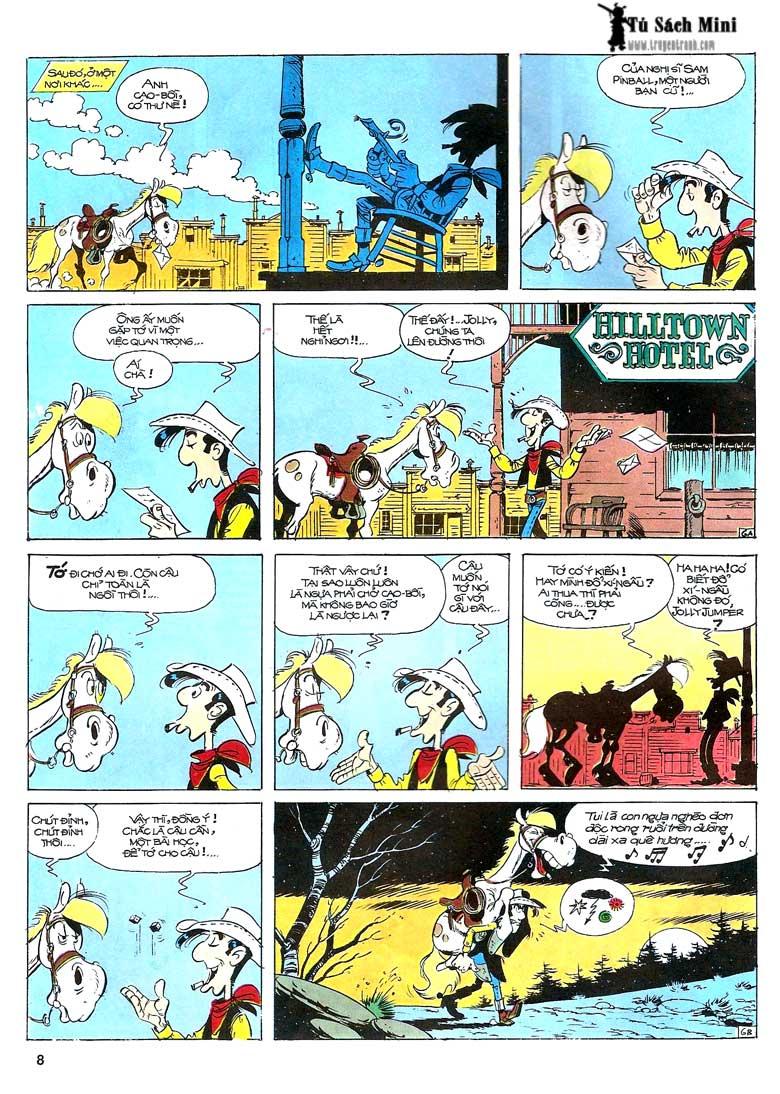 Lucky Luke tập 24 - tướng cướp một tay trang 10