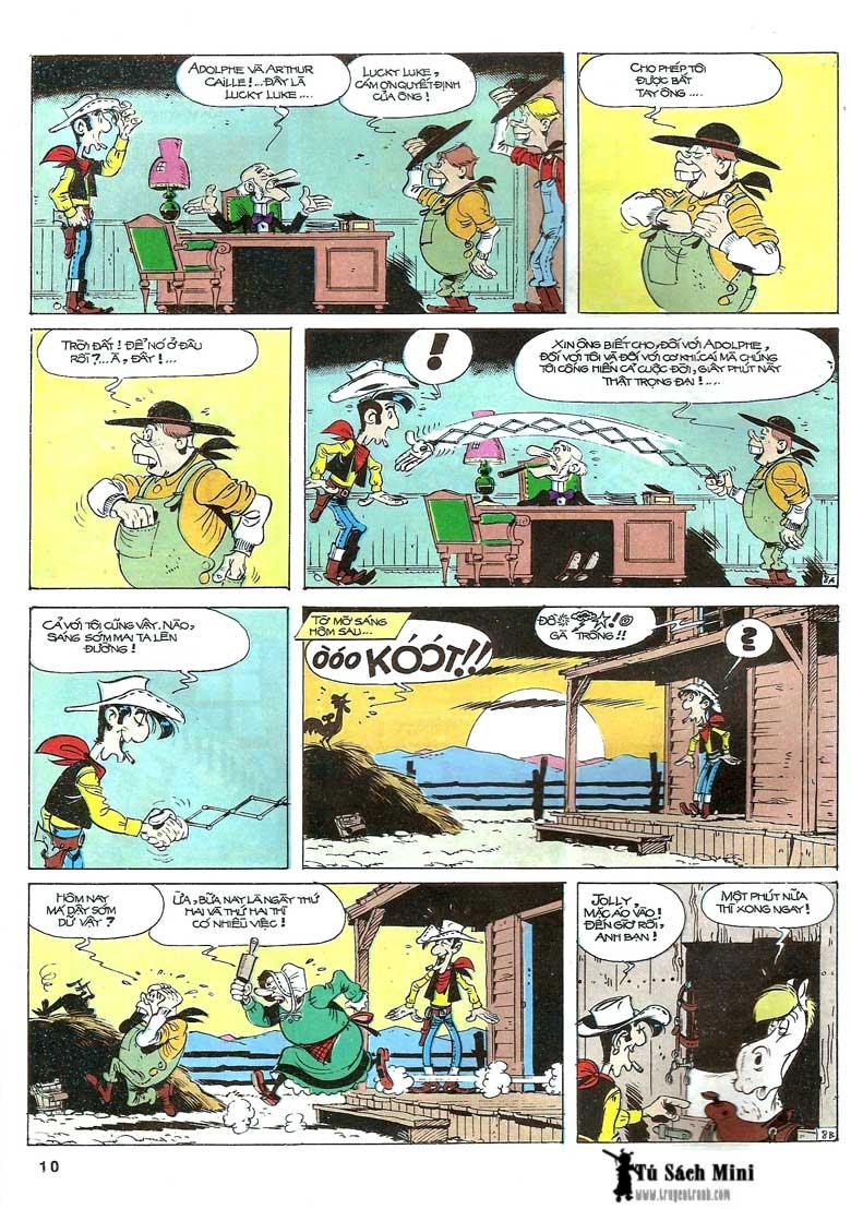 Lucky Luke tập 24 - tướng cướp một tay trang 12
