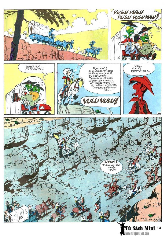 Lucky Luke tập 24 - tướng cướp một tay trang 15