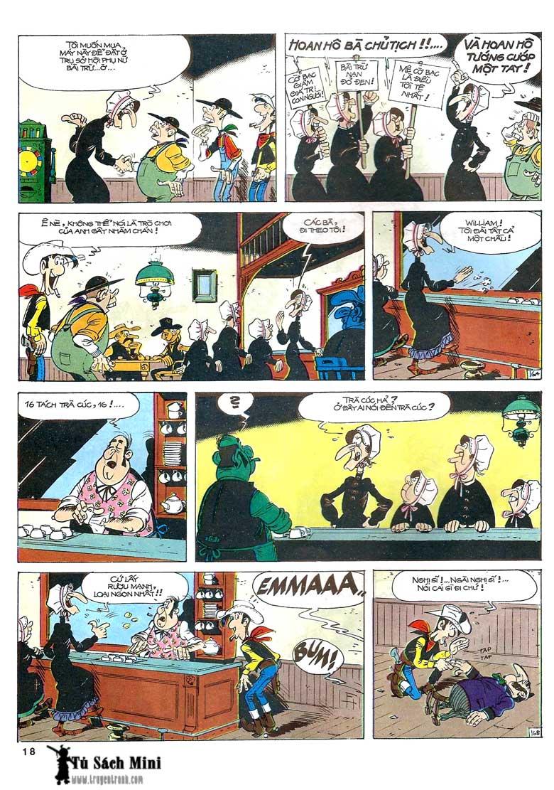 Lucky Luke tập 24 - tướng cướp một tay trang 20