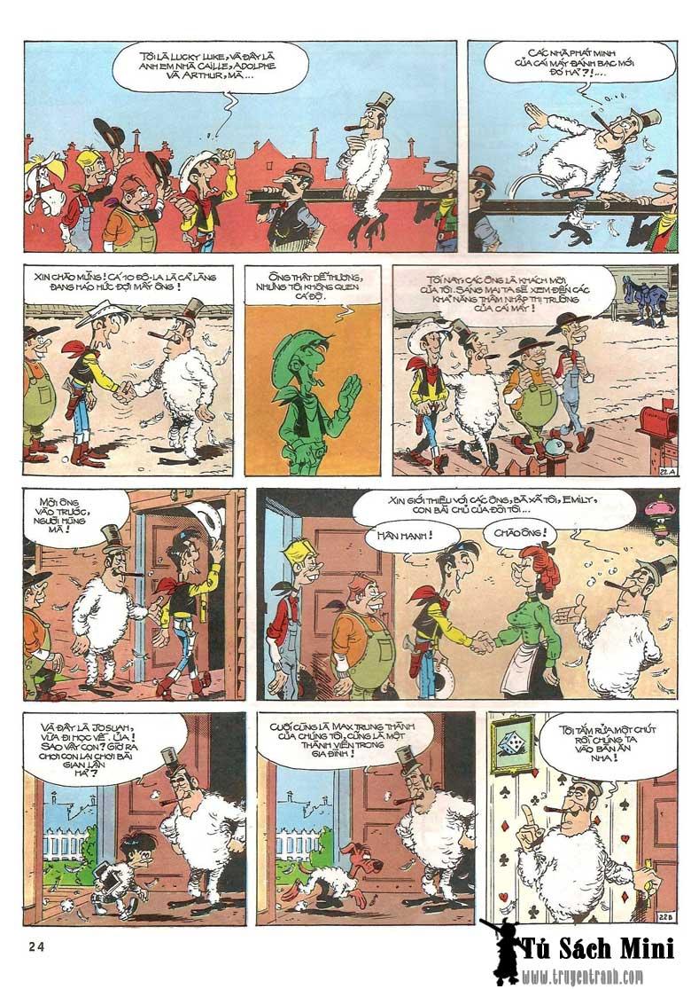 Lucky Luke tập 24 - tướng cướp một tay trang 26