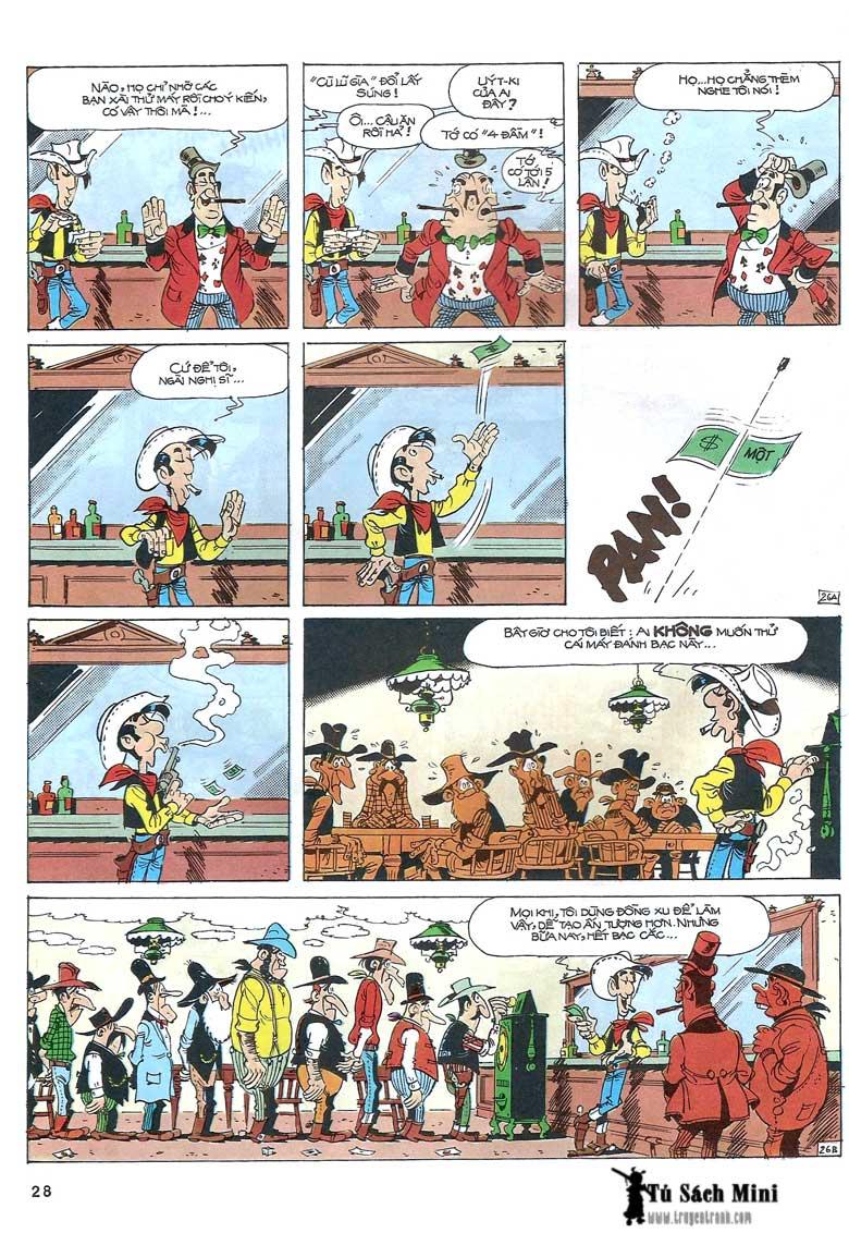 Lucky Luke tập 24 - tướng cướp một tay trang 30