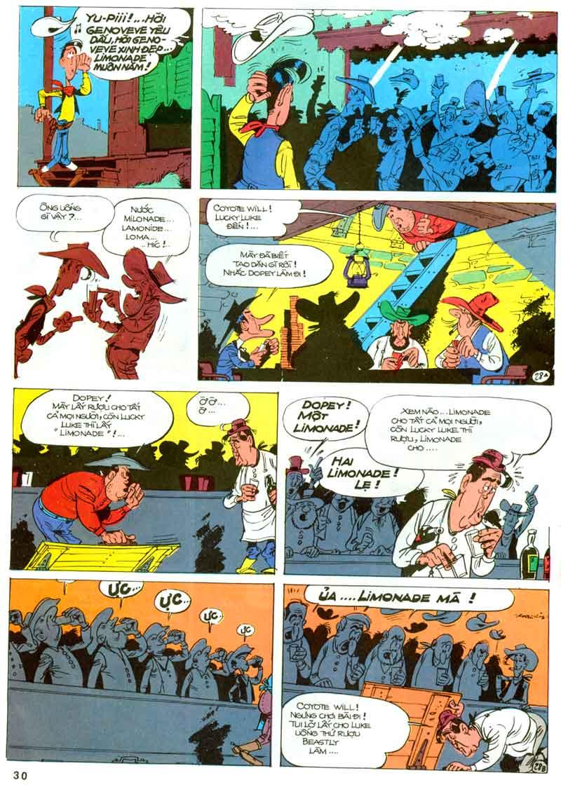 Lucky Luke tập 23 - cuộc đổ xô tới oklahoma trang 30