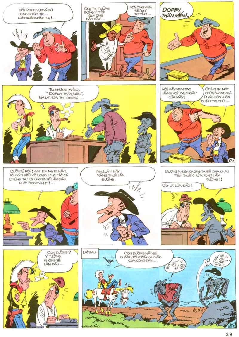 Lucky Luke tập 23 - cuộc đổ xô tới oklahoma trang 39