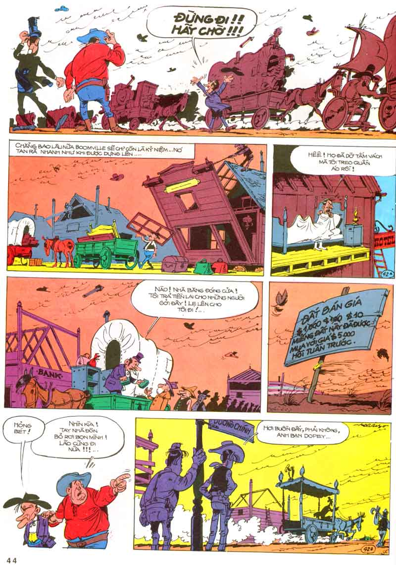 Lucky Luke tập 23 - cuộc đổ xô tới oklahoma trang 44
