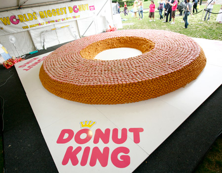 All Graphical: World Biggest Donut?