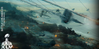 World Invasion Battle Los Angeles Super Bowl trailer