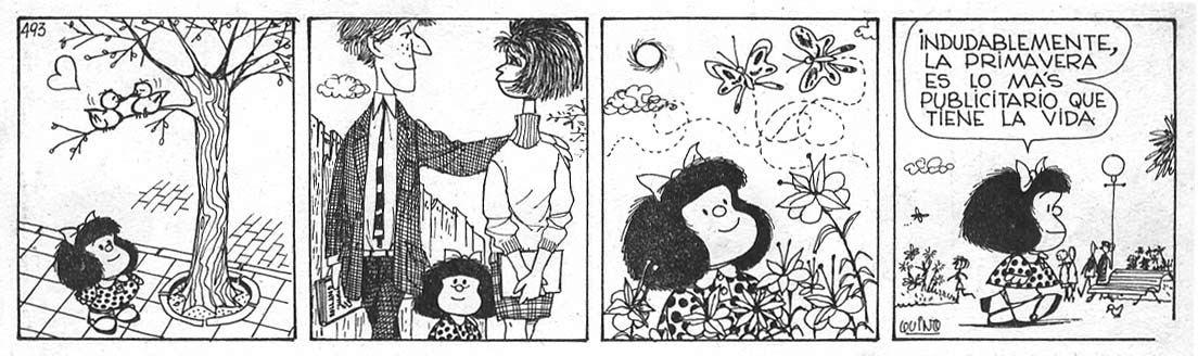 Mi comentario de Hoy..........Homenaje a QUINO Mafalda_primavera
