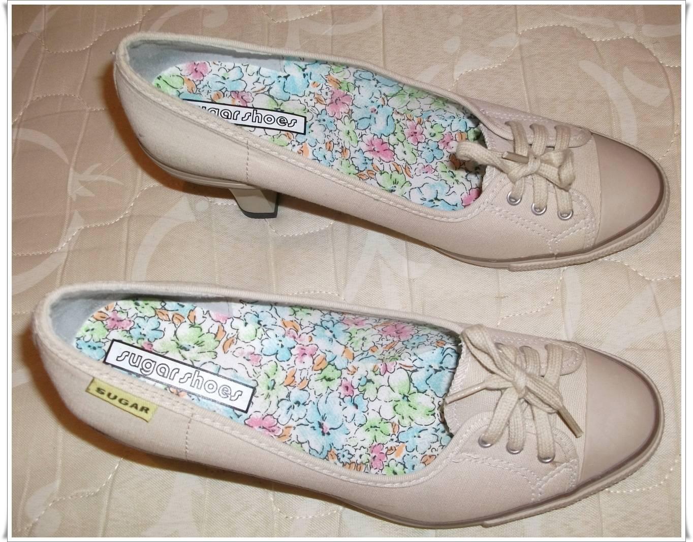 072f47abd Na cor Bege Fica perfeito se usado com Jeans Usado apenas 1 vez. Tamanho  nº39. Preço: R$60,00 - Frete Grátis. Sapato City Shoes