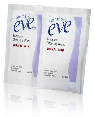 summer's eve feminine cleansing wipes 容祖兒